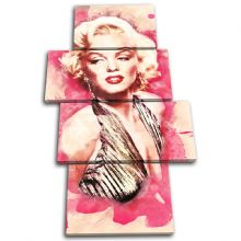 Marilyn Monroe Iconic Celebrities - 13-6021(00B)-MP04-PO